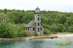 Grand Island East Channel, Munising, MI : Can only see this by boat on Lake Superior Michigan State Parks, Michigan Travel, Munising Michigan, Pictured Rocks National Lakeshore, Harbor Town, Picture Rocks, Lighthouse Keeper, Grand Island, Beacon Of Light