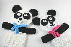 Panda- Panda Party- Hand Puppet Pattern- Crochet Toys- Panda Gifts- Hand Puppet- Easy Crochet Patterns- Kids Gift- PDF Pattern