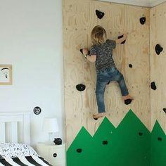 Dit heb je zo gemaakt #kids #klimmen #klimmuur #eco #kinderkamer #inspiratie