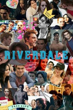 Riverdale tumblr collage diy notebook #13reasonswhy #netflix #riverdalecollage #riverdale