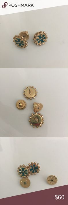 Tory Burch gold logo T earring Tory Burch earrings. Tory Burch Jewelry Earrings