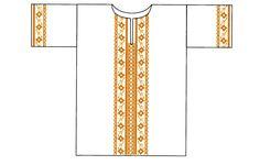 Шаг 4.Общий вид изделия.  Крестильная рубашечка своими руками