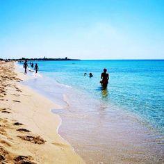Acque cristalline e dune dorate...Maldive? No #Salento:)  #beach #SalinadeiMonaci #Taranto #dominasalento #playa #colorful #sun #sea #puglia #italy