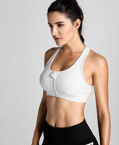 s high impact sport bra with back pocket front zipper wo Healthy Filling Snacks, Best Homemade Dog Food, Yoga Bra, How To Cook Steak, Dog Recipes, Sport Wear, Workout Wear, Bra Tops, Sports Women