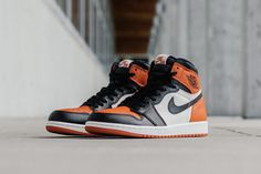 "Sneakermag - The Sneaker Blog: Nike Air Jordan 1 Retro High ""Shattered Backboard"""