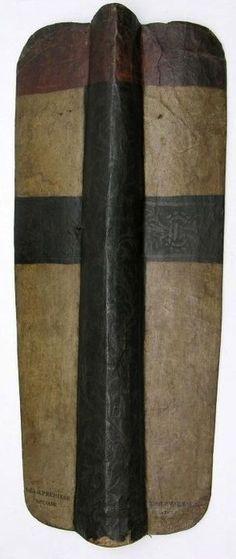 Tarcza, pawęż, Niemcy , II Poł, XV w. (Shield, Pavese, Germany, second half of 15th century)