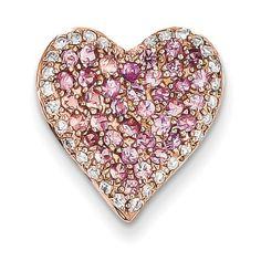 Rose Gold Diamond & Pink Sapphire Vintage Heart Pendant Heart, My Favorite Shape (CTS) Rose Gold Jewelry, Heart Jewelry, Gemstone Jewelry, Jewelry Box, Diamond Jewelry, Vintage Jewelry, Gold G, I Love Heart, Sapphire Necklace