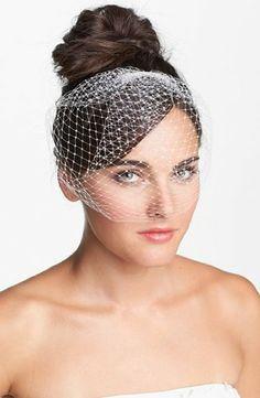 Nicole Miller Birdcage Veil
