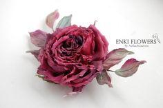 Розы из шелка Анфисы Кореловой