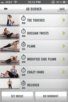 Ab Burner Workout | http://getfitnessgym.com/blog/ #GymWorkoutRoutinesForWomen #FitForLife #isGatoradeGoodForYou #GetFitnessGym