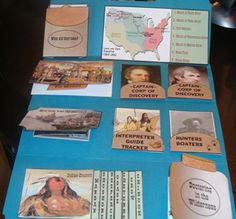Lewis and Clark free lapbook - from tina's dynamic homeschool