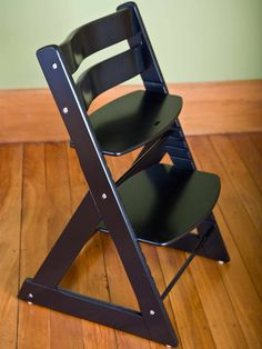 Wood Booster High Chair