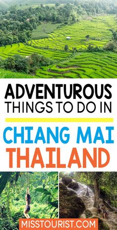 Chiang Mai is dubbed as the adventure capital of Thailand. That is very true! As I am currently living in Chiang Mai, I have this great opportunity to discover some awesome stuff, activities that usually tourist don't do. Today I will tell you about Sticky waterfalls and cliff jumping!