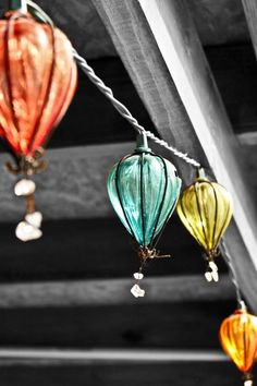Hot air balloon lights!