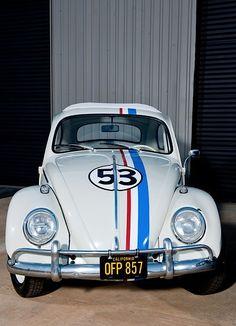 Famous cars Herbie VW