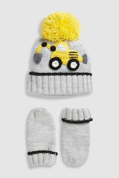 680a165c155 Buy Grey Digger Crochet Two Piece Set (Younger) from the Next UK online shop