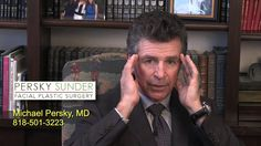 Are more men coming to Persky Sunder Facial Plastic Surgery today than in the past? Michael Persky, MD., founder of Persky Sunder Facial  Plastic Surgery talks about why more men might be tempted to come in for a plastic surgery procedure.