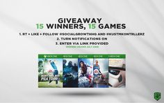 15 Winners, 15 Games including Mirror's Edge Catalyst, FIFA 16, Need for Speed and more