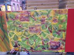 Green Street Art, Gift Wrapping, Green, Gifts, Butcher Paper, Presents, Favors, Gift Packaging, Wrapping Gifts