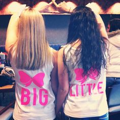 Big Little shirts I had made for Big Little reveal :) Tri Delta at Towson University