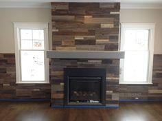 Creativity at its Peak in This DIY Fireplace Mantel Fixing Method ...