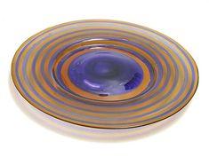 KAJ FRANCK - 'Ring plate' for Nuutajärvi Notsjö, Finland. Glass Design, Design Art, Alvar Aalto, Modern Contemporary, Scandinavian, Glass Art, Retro Vintage, Plate, Ring
