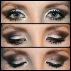 Date night smokey eye ! So easy to create and done easily with our amazing products ! Look at those lashes 3d fibre mascara