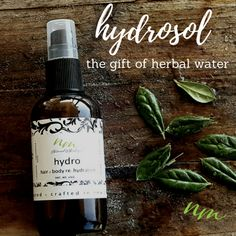 What is a hydrosol? Hydrosols are among the gentlest and safest aromatics for use in caring for your complexion. Soothing and calming they have anti-inflammator