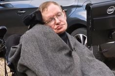 """Stephen Hawking's """"ALS Ice Bucket Challenge"""" is the only one you need to watch"""