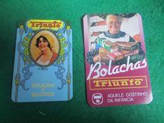 Sonho Antigo: calendários publicitários bolachas triunfo