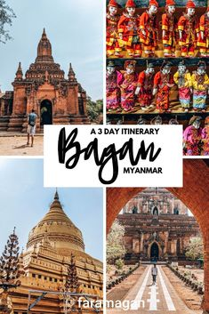 Looking for the most epic things to do in Bagan? This Bagan itinerary covers where to stay, eat and find the best Bagan temples. Also includes costs and top tips. Myanmar Travel, Asia Travel, Solo Travel, Travel Books, Myanmar Destinations, Travel Destinations, Beautiful Places To Visit, Cool Places To Visit, Asia City