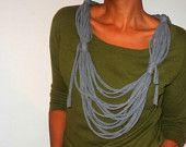 tshirt necklace idea with side tassels