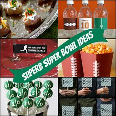 Superb Superbowl Ideas - The Newlywed Pilgrimage