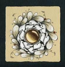 Afbeeldingsresultaat voor zentangle gems