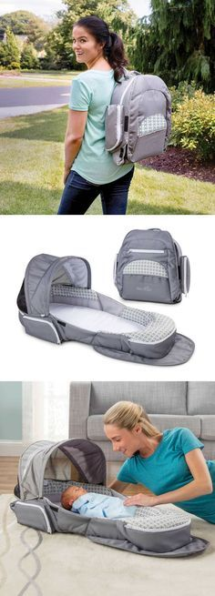 Portable infant sleeper for travel, baby shower gift idea #affililatelink