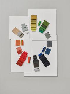 Dutch Designer Hella Jongerius Brings New Colors to Vitra and #Eames designs