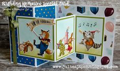 Julie Kettlewell - Stampin Up UK Independent Demonstrator - Order products 24/7: Birthday Memories 1st Birthday Card