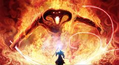 Balrog, Hazma, Glorfindel's brother, jedi, hero..
