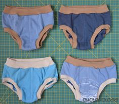 Upcycled boy underwear. Not a pattern or tutorial