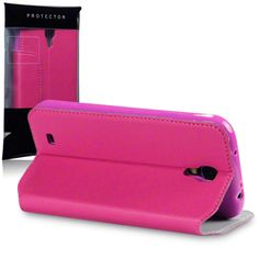 Samsung i9500 Galaxy S4 Premium PU Leather Wallet Case With Stand By Terrapin - Pink (117-002-337) The leather wallet case is a perfect kit to protect your phone from scratches, defend against the dents and dings of everyday life.