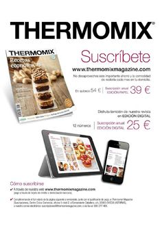 Thermomix magazine num 77 marzo 2015 by Amaia Markuleta - issuu Make It Simple, Author, Magazine, Books, How To Make, Journals, Libros, January, Cooking