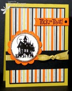 I thought I was making a quick Halloween card for the Technostamper Monday Lunchtime Sketch Challenge. The Best of Halloween set was just perfect for this fun sketch! Set: Best of Halloween Halloween Tags, Halloween Paper Crafts, Halloween Scrapbook, Holidays Halloween, Halloween Ideas, Handmade Halloween Cards, Halloween Halloween, Halloween Costumes, Scrapbooking