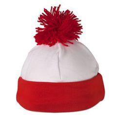 Where's Waldo(Wally)? Bobble Hat from http://www.shopwaldo.com/