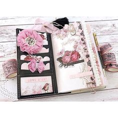 """#Repost @prettymintplanner ・・・ Loving my set up in @myprimaplanner Vintage Floral TN I used My Prima Planner planner kit """"Dream On"""" and paperclip 'Lavender Violet'. I also used @primamarketinginc 'Love Story' paper and new washi tape 'Vintage Blush' Totally in love with this TN See my profile for links and discounts to My Prima Planner and @washi.lane for all your My Prima Planner planner goodies. . . . . #myprimaplanner #primamarketinginc #primamarketing #planneraddict #pla"""