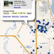 Check out Property Values in Canaveral Groves