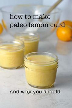 How to Make Paleo Lemon Curd. How to Make Paleo Lemon Curd Recipes Make your own preservative-free paleo-friendly lemon curd in a few minutes in your own kitchen. Paleo Dessert, Paleo Sweets, Gluten Free Desserts, Healthier Desserts, Lemon Curd Recipe Canning, Sour Recipe, Low Carb Recipes, Cooking Recipes, Irish Recipes