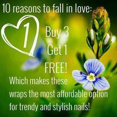 10 Reasons to Love Jamberry: Reason #1 www.caseyhalliwell.jamberrynails.net