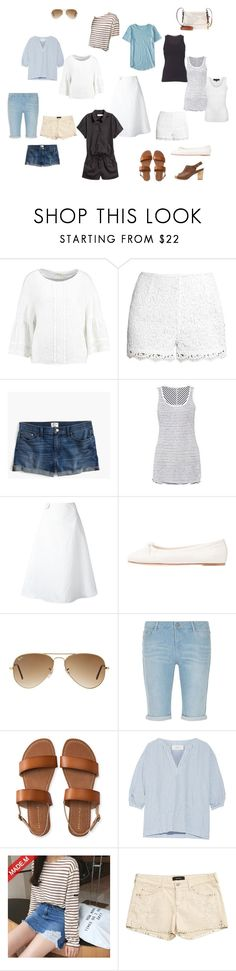 """""""Summer vacation 2"""" by arcticjasmine on Polyvore featuring Anna Field, J.Crew, Marc, Marni, El Naturalista, Ray-Ban, Dorothy Perkins, Aéropostale, The Great and Isabel Marant"""