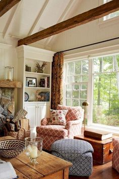 Home Interiors And Gifts, Country Farmhouse, Farmhouse Ideas, Living Room Designs, Living Rooms, Home Remodeling, Rustic Decor, Cottage, The Incredibles