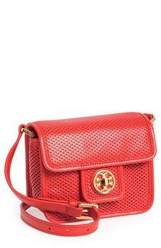 Tory Burch 'Mini Harper' Leather Crossbody Bag